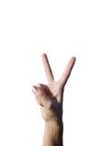 νίκη Στοκ εικόνα με δικαίωμα ελεύθερης χρήσης