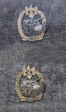 Ναζιστικά σημάδια (για τη μάχη δεξαμενών) Στοκ Εικόνα