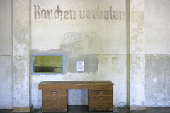 Ναζιστικό στρατόπεδο συγκέντρωσης σε Dachau, Βαυαρία Στοκ Φωτογραφίες