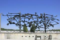 Ναζιστικό στρατόπεδο συγκέντρωσης σε Dachau, Βαυαρία Στοκ φωτογραφία με δικαίωμα ελεύθερης χρήσης