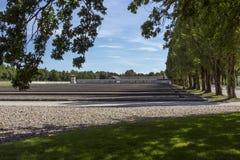 Ναζιστικό στρατόπεδο συγκέντρωσης Dachau - Γερμανία Στοκ Εικόνα