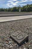 Ναζιστικό στρατόπεδο συγκέντρωσης Dachau - Γερμανία Στοκ Φωτογραφία