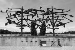 Ναζιστικό στρατόπεδο συγκέντρωσης Dachau - Γερμανία Στοκ εικόνες με δικαίωμα ελεύθερης χρήσης