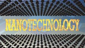 νανοτεχνολογία Στοκ Εικόνες