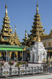 Παγόδα Shwedagon σύνθετα - Yangon - το Μιανμάρ Στοκ Εικόνες