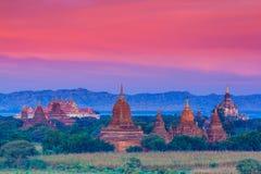 Ναοί σε Bagan, το Μιανμάρ Στοκ φωτογραφία με δικαίωμα ελεύθερης χρήσης