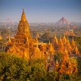 Ναοί σε Bagan Στοκ Εικόνες