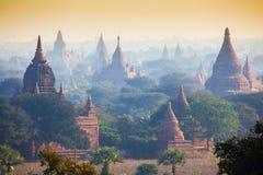 Ναοί σε Bagan Στοκ φωτογραφία με δικαίωμα ελεύθερης χρήσης