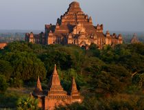 Ναοί σε Bagan Myanmar Στοκ Εικόνα