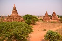 Ναοί σε Bagan Myanmar Στοκ εικόνα με δικαίωμα ελεύθερης χρήσης