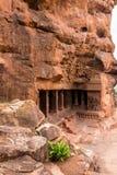 Ναοί σπηλιών Badami της ηλικίας Chalukya Στοκ φωτογραφία με δικαίωμα ελεύθερης χρήσης