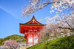 Ναοί του Κιότο την άνοιξη Στοκ Εικόνες