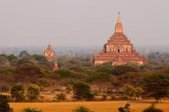 Ναοί το Μιανμάρ Bagan Στοκ Φωτογραφίες