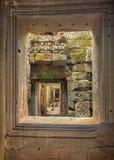 Ναοί Angkor, Καμπότζη, Ασία Στοκ Εικόνες
