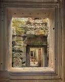 Ναοί Angkor, Καμπότζη, Ασία Στοκ φωτογραφίες με δικαίωμα ελεύθερης χρήσης