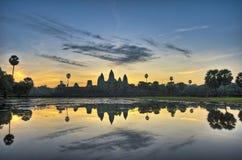 Ναοί Angkor Στοκ εικόνες με δικαίωμα ελεύθερης χρήσης
