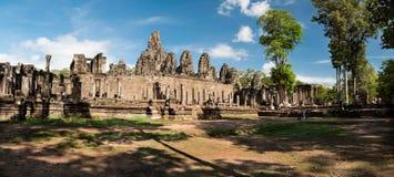 Ναοί, Angkor Wat στην Καμπότζη Στοκ Εικόνα