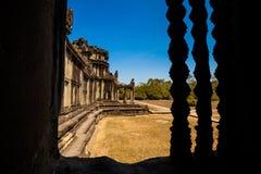 Ναοί Angkor wat στην Καμπότζη Στοκ φωτογραφίες με δικαίωμα ελεύθερης χρήσης