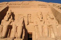 Ναοί Aswan Αίγυπτος Simbel Abu Στοκ Εικόνες