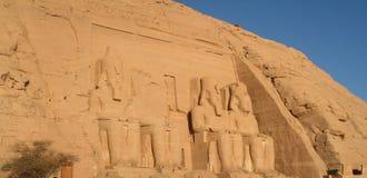 Ναοί Aswan Αίγυπτος Simbel Abu Στοκ Φωτογραφία
