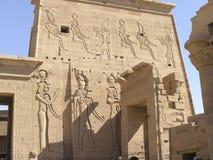 ναοί philae της Αιγύπτου Στοκ φωτογραφία με δικαίωμα ελεύθερης χρήσης