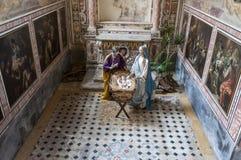 ΝΑΠΟΛΗ, ΙΤΑΛΙΑ σε 10 16 2016 το μοναστήρι του SAN Gregorio Armeno, Νάπολη Στοκ Εικόνα