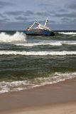 Ναυάγιο - ακτή σκελετών - Ναμίμπια Στοκ φωτογραφία με δικαίωμα ελεύθερης χρήσης