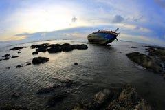Ναυάγιο σε Angsila Chonburi, Ταϊλάνδη Στοκ εικόνες με δικαίωμα ελεύθερης χρήσης