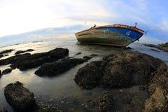 Ναυάγιο σε Angsila Chonburi, Ταϊλάνδη Στοκ Εικόνα
