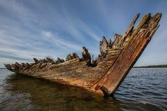 ναυάγιο Στοκ Φωτογραφία