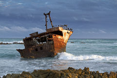 ναυάγιο Στοκ Φωτογραφίες