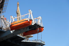 ναυαγοσωστικές λέμβοι Στοκ φωτογραφία με δικαίωμα ελεύθερης χρήσης