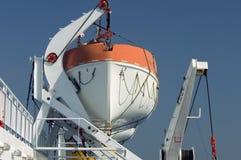 ναυαγοσωστική λέμβος ανελκυστήρων στοκ φωτογραφία με δικαίωμα ελεύθερης χρήσης
