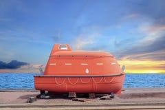 Ναυαγοσωστική λέμβος Στοκ φωτογραφίες με δικαίωμα ελεύθερης χρήσης