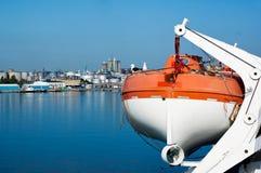 ναυαγοσωστική λέμβος Στοκ Φωτογραφίες