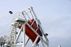 ναυαγοσωστική λέμβος Στοκ Φωτογραφία