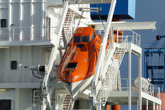 ναυαγοσωστική λέμβος Στοκ φωτογραφία με δικαίωμα ελεύθερης χρήσης