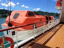 ναυαγοσωστική λέμβος Στοκ εικόνα με δικαίωμα ελεύθερης χρήσης