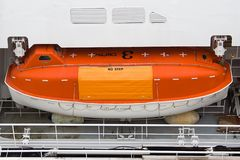 ναυαγοσωστική λέμβος Στοκ εικόνες με δικαίωμα ελεύθερης χρήσης