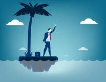 Ναυαγός επιχειρηματιών ελεύθερη απεικόνιση δικαιώματος