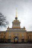 Ναυαρχείο σε Άγιο Πετρούπολη Στοκ Φωτογραφία