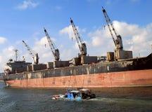 ναυλωτής αλιείας βαρκών μεγάλος Στοκ φωτογραφία με δικαίωμα ελεύθερης χρήσης