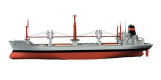 ναυλωτής φορτίου Στοκ εικόνα με δικαίωμα ελεύθερης χρήσης