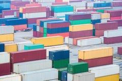 Ναυπηγείο εμπορευματοκιβωτίων στη Σαγγάη στοκ εικόνα με δικαίωμα ελεύθερης χρήσης