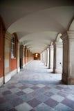 Ναυπηγείο δικαστηρίου στο παλάτι Χάμπτον Κόρτ Στοκ Εικόνες