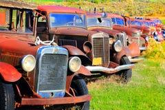 Ναυπηγείο κόκκαλων φορτηγών Στοκ Εικόνες