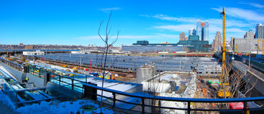 Ναυπηγείο δυτικών πλευρών, Μανχάταν, πόλη της Νέας Υόρκης Στοκ εικόνες με δικαίωμα ελεύθερης χρήσης