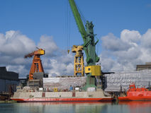 ναυπηγείο Στοκ Φωτογραφίες