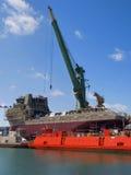 ναυπηγείο στοκ φωτογραφία με δικαίωμα ελεύθερης χρήσης