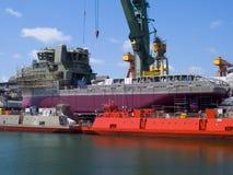 ναυπηγείο Στοκ εικόνα με δικαίωμα ελεύθερης χρήσης